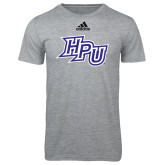 Adidas Sport Grey Logo T Shirt-HPU