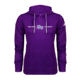Adidas Climawarm Purple Team Issue Hoodie-High Point HPU University
