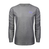 Grey Long Sleeve T Shirt-HPU