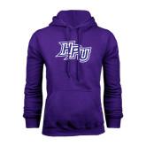 Purple Fleece Hoodie-HPU