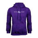 Purple Fleece Hoodie-High Point HPU University