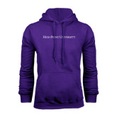 Purple Fleece Hoodie-High Point University