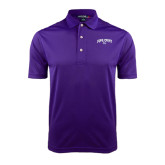 Purple Dry Mesh Polo-Arched High Point University