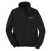 Black Charger Jacket-Arched High Point University