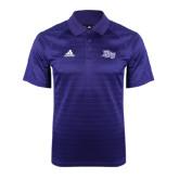 Adidas Climalite Purple Jaquard Select Polo-HPU