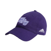 Adidas Purple Slouch Unstructured Low Profile Hat-HPU