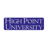 Medium Magnet-Stacked High Point University, 8 in W
