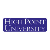 Large Magnet-Stacked High Point University, 12 in W
