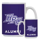 Alumni Full Color White Mug 15oz-HPU