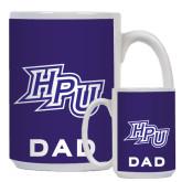 Dad Full Color White Mug 15oz-HPU