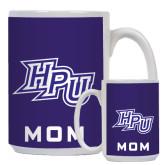 Mom Full Color White Mug 15oz-HPU