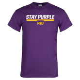 Purple T Shirt-Stay Purple