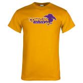 Gold T Shirt-Cowgirls Soccer