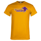 Gold T Shirt-Cowgirls Softball