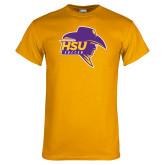 Gold T Shirt-Mens Soccer