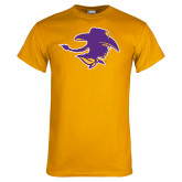 Gold T Shirt-Cowgirl Head