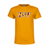 Youth Gold T Shirt-HSU