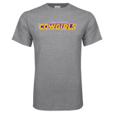 Grey T Shirt-Hardin-Simmons Cowgirls