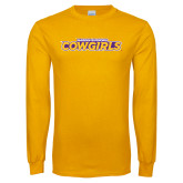 Gold Long Sleeve T Shirt-Hardin-Simmons Cowgirls