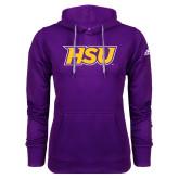 Adidas Climawarm Purple Team Issue Hoodie-HSU