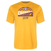 Syntrel Performance Gold Tee-2017 ASC Champs - Mens Basketball Half Ball