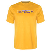 Performance Gold Tee-Hardin-Simmons Cowgirls