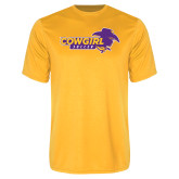 Performance Gold Tee-Cowgirls Soccer