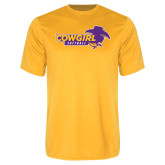 Performance Gold Tee-Cowgirls Softball