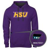 Contemporary Sofspun Purple Hoodie-HSU