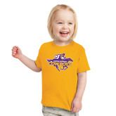 Toddler Gold T Shirt-Primary Logo