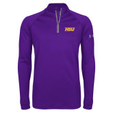 Under Armour Purple Tech 1/4 Zip Performance Shirt-HSU