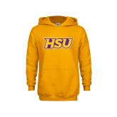Youth Gold Fleece Hood-HSU
