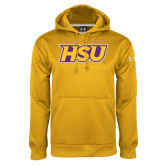 Under Armour Gold Performance Sweats Team Hood-HSU