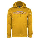 Under Armour Gold Performance Sweats Team Hoodie-Hardin-Simmons Cowgirls