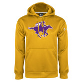 Under Armour Gold Performance Sweats Team Hoodie-Cowgirl Riding