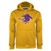 Under Armour Gold Performance Sweats Team Hood-Cowgirl Head