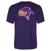 Performance Purple Tee-Mens Basketball