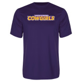 Syntrel Performance Purple Tee-Hardin-Simmons Cowgirls