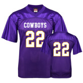 Replica Purple Adult Football Jersey-#22