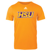 Adidas Gold Logo T Shirt-HSU