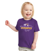 Toddler Purple T Shirt-Primary Logo