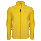 Fleece Full Zip Gold Jacket-Hardin-Simmons Cowgirls