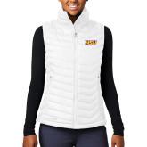 Columbia Mighty LITE Ladies White Vest-HSU