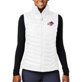 Columbia Mighty LITE Ladies White Vest-HSU Cowgirl