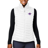 Columbia Lake 22 Ladies White Vest-Cowgirl Riding