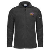 Columbia Full Zip Charcoal Fleece Jacket-HSU Cowboy