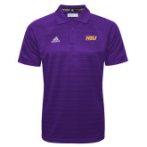 Adidas Climalite Purple Jaquard Select Polo-HSU