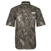 Camo Short Sleeve Performance Fishing Shirt-HSU