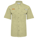 Columbia Bonehead Khaki Short Sleeve Shirt-HSU