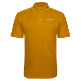 Gold Textured Saddle Shoulder Polo-Hardin-Simmons Cowboys